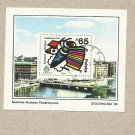 POLAND PHILATELIC EXHIBITION STOCKHOLM STAMP MINIPAGE 1986