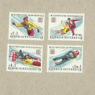 AUSTRIA INNSBRUCK WINTER OLYMPIC STAMPS 1975