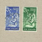 NEW ZEALAND HEALTH ISSUE STAMPS NURSE AND BABY 1949