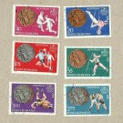 ROMANIA MONTREAL SUMMER OLYMPIC STAMPS 1976