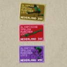 NETHERLANDS NEDERLAND MUNICH MUNCHEN SUMMER OLYMPIC GAMES STAMPS 1972