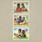 NIGER REPUBLIQUE DU NIGER INTERNATIONAL CHILDRENS DAY STAMPS 1979