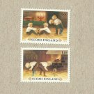 FINLAND CHRITMAS  STAMPS 1980