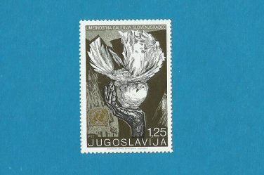 YUGOSLAVIA 25th ANNIVERSARY OF THE UNITED NATIONS STAMP 1970