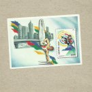 BELARUS SUMMER OLYMPIC GAMES ATLANTA 1996 UNUSED STAMP BLOC