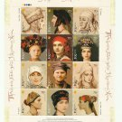 UKRAINE TRADITIONAL HEADDRESS OF UKRAINIAN WOMEN STAMPS 2006