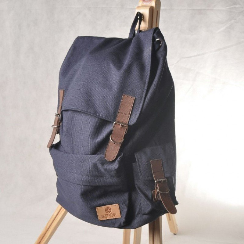 "Stylish New Waterproof Canvas Laptop Bag 14"" Men Women School Campus Backpack"