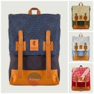 "Stylish Batik 14"" Laptop Bag Waterproof Travel Campus School Vintage Backpack"