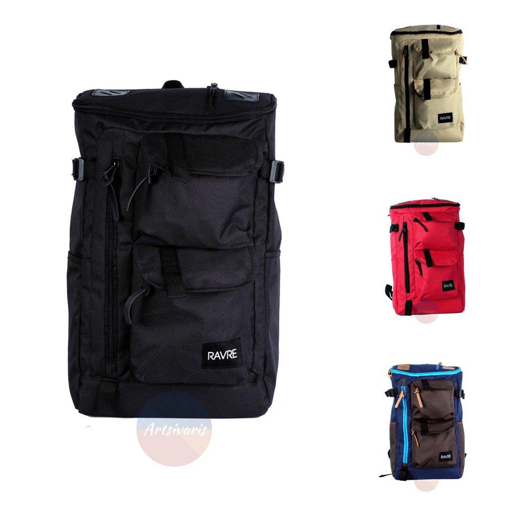"Artsivaris Polyester Hiking Backpack 15"" Laptop Computer Travel Sport Bag"