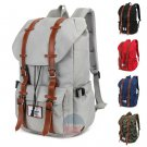 "Stylish Unisex 15"" Laptop Shoulder Bag Travel Outdoor School Book Nylon Backpack"