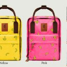 "Stylish Waterproof Banana 14"" Laptop Macbook Canvas Backpack School Hand Bag"