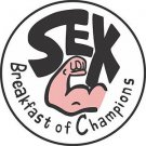 HOT SALE Sex Breakfast for Champion James Hunt Mclaren RUSH Fans 5 Stickers