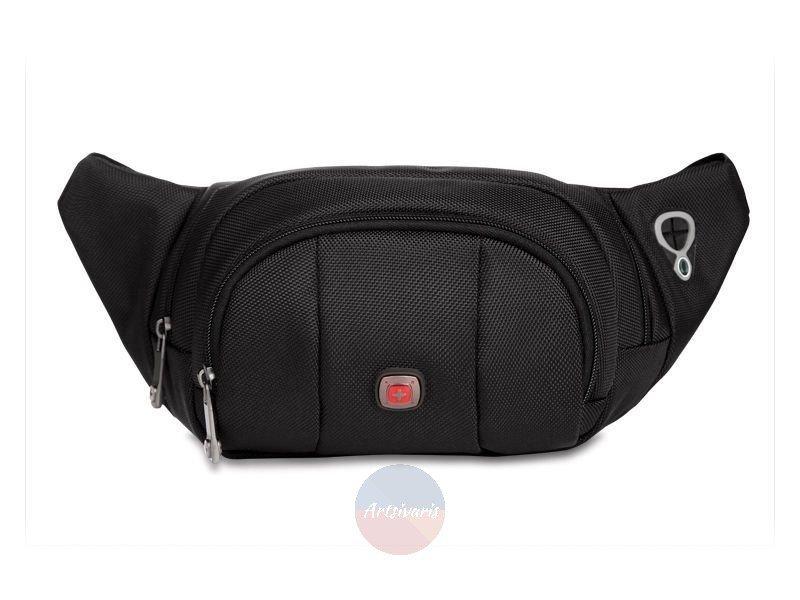 NEW Swiss Running Belt Bum Waist Pouch Hip Fanny Travel Pack Zip Sport Bag