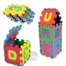 36Pcs Mini Puzzle Alphabet A-Z Letters Foam Mat Kids Baby Educational Toy