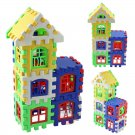 24pcs Baby Kid Children House Building Blocks Construction Developmental Toy Set