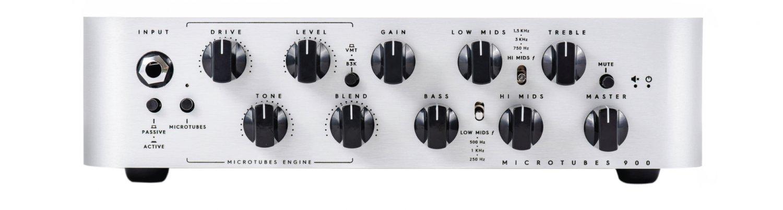 Darkglass Electronics MicroTubes 900 Class D 900W Bass Amp Head