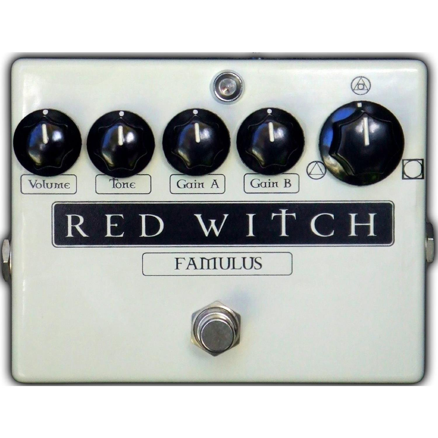 RED WITCH FAMULUS OVERDRIVE EFFECTS PEDAL