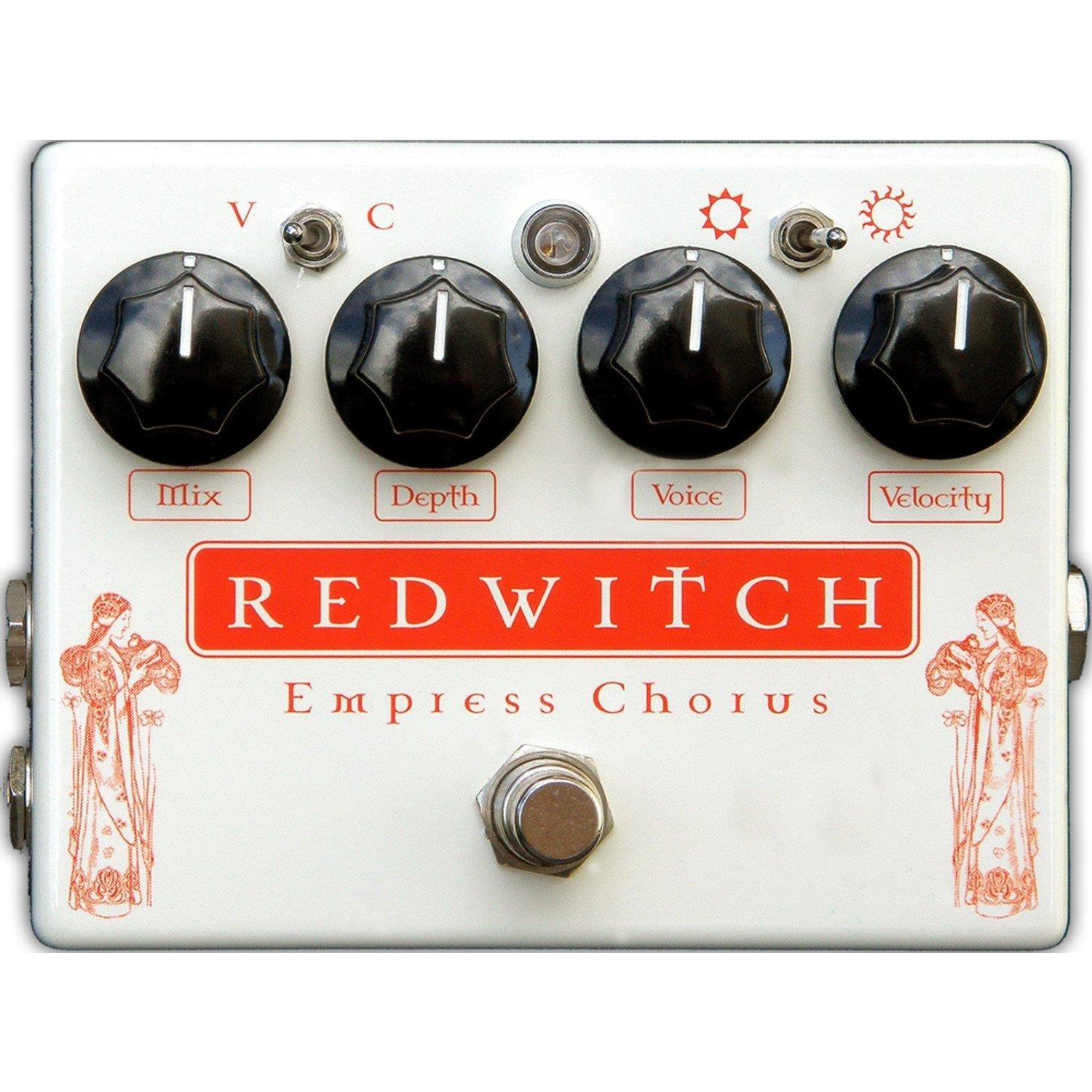 RED WITCH EMPRESS CHORUS/VIBRATO EFFECTS PEDAL