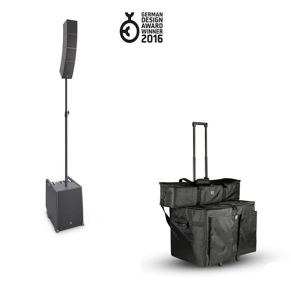 LD SYSTEMS CURV 500 ENTERTAINER SET WITH BAGS