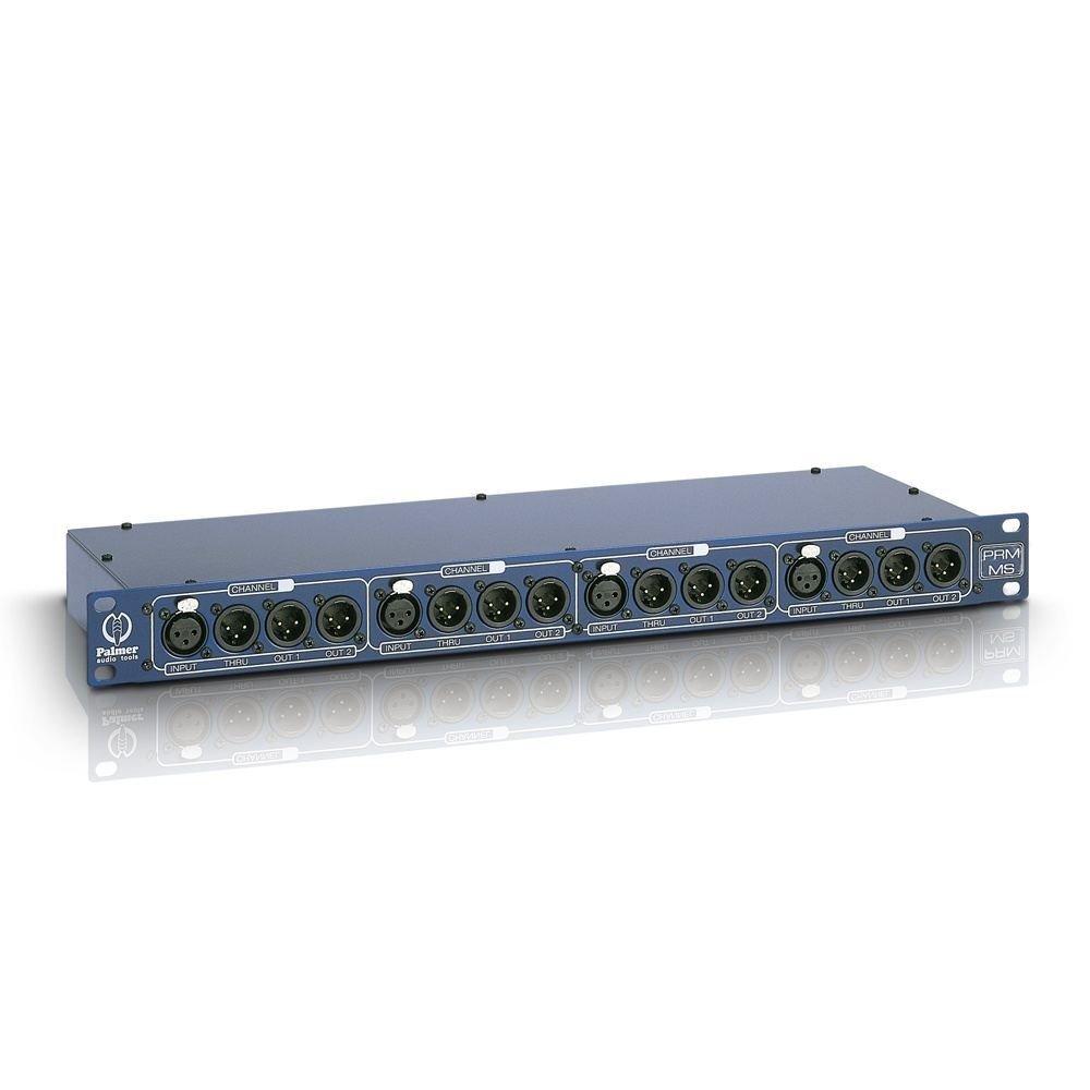 PALMER PRMMS 4-CHANNEL MICROPHONE SPLITBOX