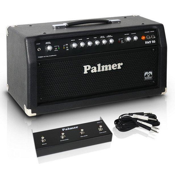 Palmer Fat 50H 50W 4-Channel Tube Guitar Amplifier Head