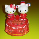 Hello Kitty and Dear Daniel Ceramic Chinese Wedding Music Box