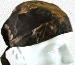 Hunting skull cap in camo design