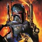Boba Fett Star Wars poster