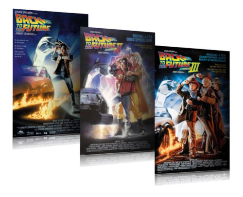 BACK TO THE FUTURE 3 PIECE POSTER