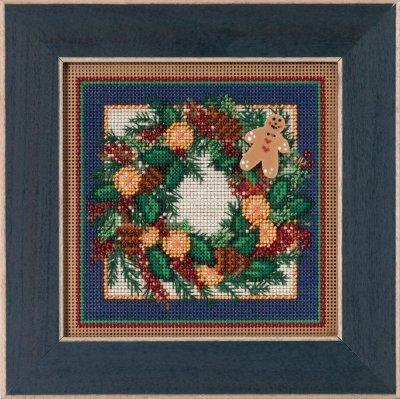 Mill Hill Pear Wreath Kit