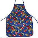 Hawaii Print Aprons - Blue Pineapple