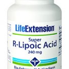 Life Extension Super R-Lipoic Acid 240 mg, 60 vegetarian capsules