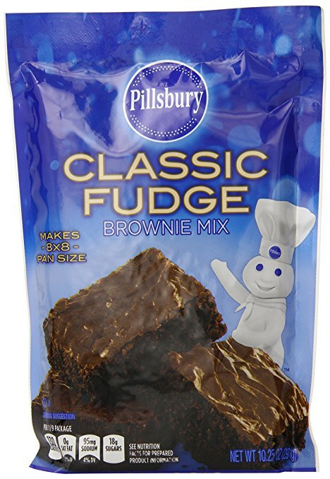 Pillsbury Classic Fudge Brownie Mix, 10.25 Ounce