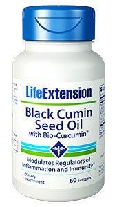 Black Cumin Seed Oil with Bio-Curcumin® 60 Softgels
