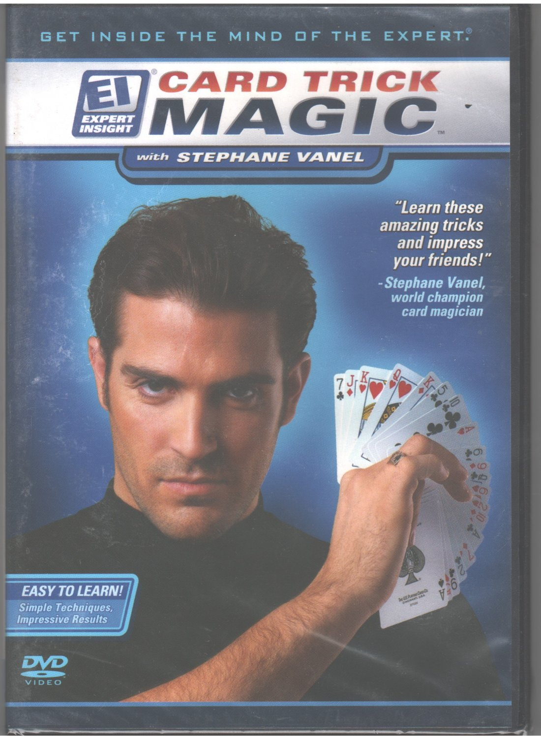 Card Trick Magic with Stephane Vanel DVD