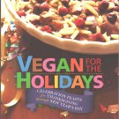 Vegan for the Holidays Softcover Book by Zel Allen