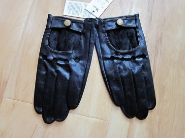 New Fashion Men's Genuine Small Goat Leather Gloves / Driving Gloves