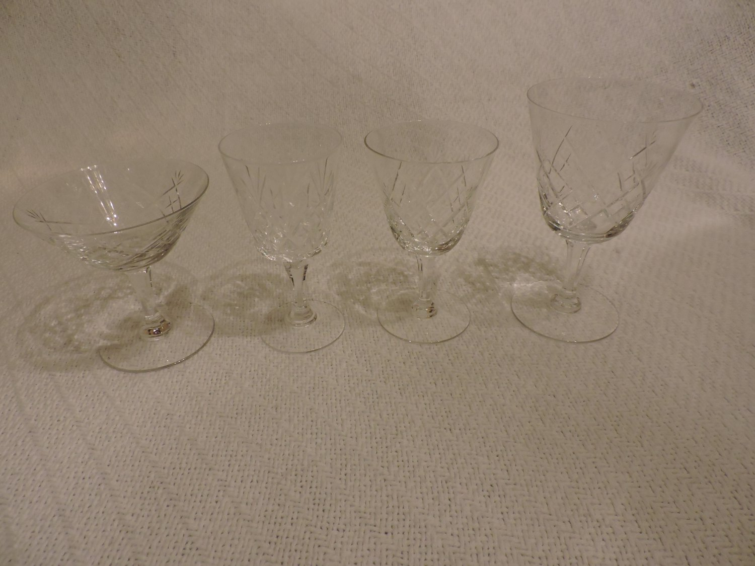 Crystal Glasses Lot - LOCAL PICK UP ONLY