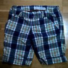 Hollister Juniors size 3 plaid casual shorts women's