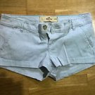 Hollister grey short shorts womens juniors size 1