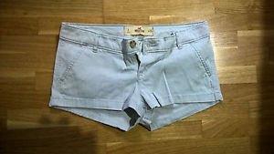 Hollister grey short shorts womens juniors size 1