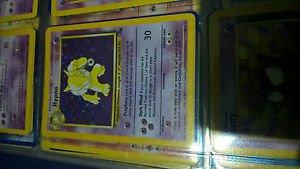 Hypno 8/62 (Fossil Holo) - Rare Pokemon Card