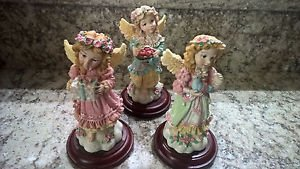 Vintage House of Lloyd Christmas Around The World Collection of 3 Angels