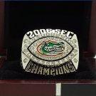 2006 FLORIDA GATORS SEC NCAA FOOTBALL National Championship Ring 7-15 Size Engraved Inside
