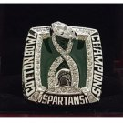 2015 Michigan State Spartans MSU NCAA Cotton Bowl National Championship Ring 8-14 Size