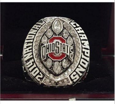 2014 Ohio State Buckeyes NCAA National Championship Ring 7-15 Size