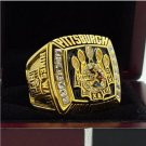 2005 Pittsburgh Steelers super bowl champion ring 8-14 Size High quality, it is worth collecting