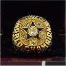 1971 Dallas Cowboys super bowl ring 8-14 Size High quality, it is worth collecting