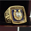 1970 Baltimore Colts super bowl ring replica size 11 US amazing gorgeous