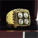 1979 Pittsburgh Steelers super bowl Championship Ring 11 Size high quality in stock for sale .